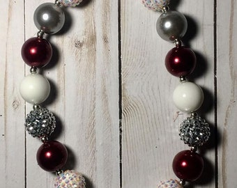 Football bubblegum necklace