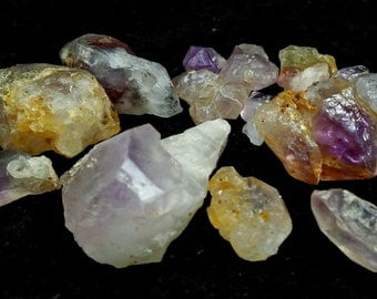 271.95 Unheated& Natural Purple Amethyst Rough Lot