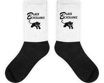 Black Excellence Black Panther Socks