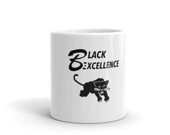 Black Excellence Black Panther Mug