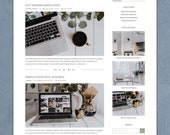 Lisa - Responsive Wordpress Theme - Genesis Child Theme - Wordpress Blog Theme - Photography Theme – Instant Digital Download