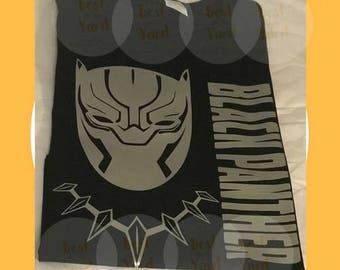 Kids' Black Panther T-shirt