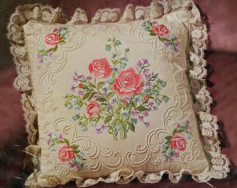 Janlynn Candlewicking Embroidery Roses