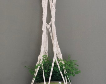 Macrame Plant Hanger in There III