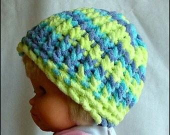 Hand-Knit Super Soft Baby Beanie