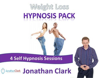 New Weight Loss Hypnosis Pack 4 Audio Set