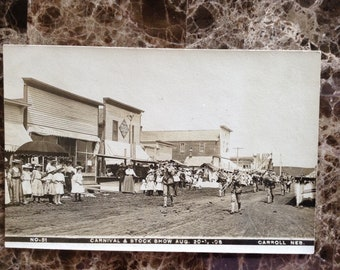 1908 Carroll Nebraska Carnival & Stock Show no. 51