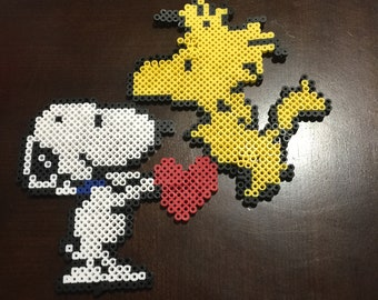 Snoopy and Wood stock