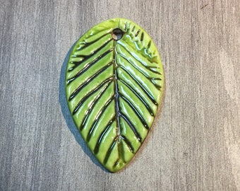 Earthenwood Ceramic Pendant