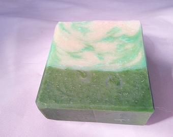 Green Irish CP soap