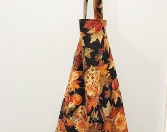 Thanksgiving Fall Apron | Harvest fabric | Kitchen Apron Ready to Ship