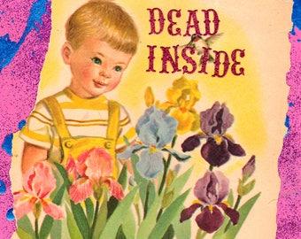 Dead Inside COLLAGE ART
