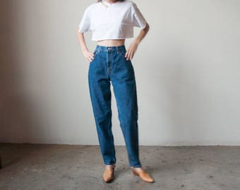 LEVIS 550 tapered jeans / classic levis high rise / vtg relaxed fit tapered leg jeans / 14 S / 32 W / 2879t / B10