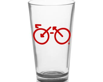 Bike - Pint Glass