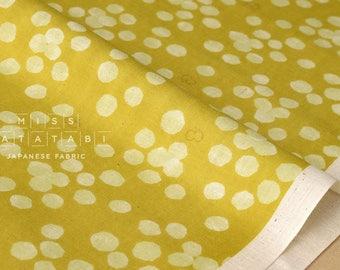 Japanese Fabric Kokka Trefle Cucito - Acacia double gauze - yellow - 50cm
