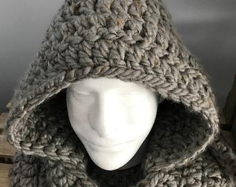 Chunky Crochet Scoodie