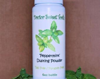 Peppermint Essential Oil Dusting Powder (Talc Free)
