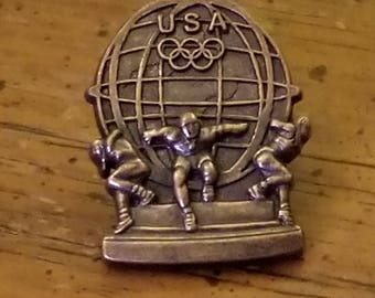 Olympics Vintage Pin