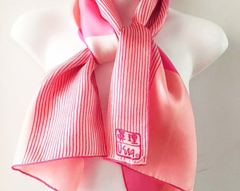 Vera Neumann Scarf Peoples Republic of China Scarf Series 1974 Collectible Long
