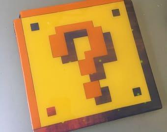 Cosmic Question Block - super mario 3 wall art
