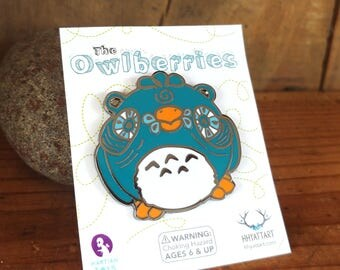 The Owlberries Enamel Collectible Pin Limited Edition