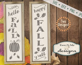 Fall svg - Happy Fall Yall svg - hello fall svg - autumn svg bundle  -  fall svg bundle - Commercial use svg, dfx, png and jpg