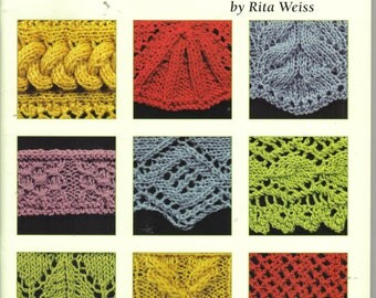 50 Fabulous Knitted Borders ~ Reference Book  ~  Leisure Arts ~  Knitting Book