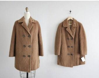 25% OFF SALE austrian mohair wool coat | 1950s wool coat | austrian coat