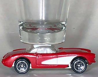 The ORIGINAL Hot Shot Shot Glass, 1957 Chevy Corvette, Matchbox
