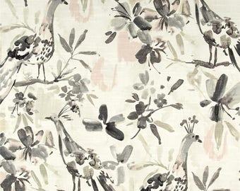 Bird curtains Kelly Ripa curtains flora flaunt oyster curtains floral curtains bird decor