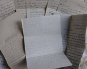 Antique Hand written Letters.1874..1893..1910