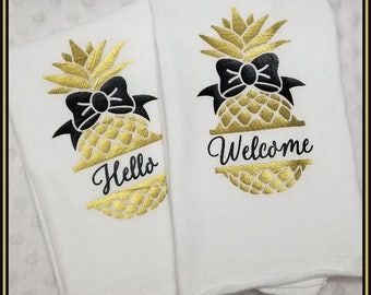 Kitchen Towels Flour Sack Welcome towels