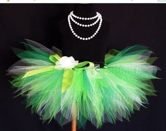 "SUMMER SALE 20% OFF Green Baby Tutu - St Patricks Tutu Set - Birthday Tutu - Ireland Dreams - Sewn 8"" Pixie Tutu - sizes Newborn to 12 month"