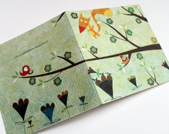 Card, a flower for you C122