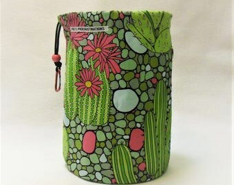 XL Knit Sack in Desert Blooms