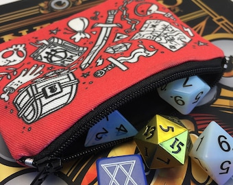 Zippered Dice pouch