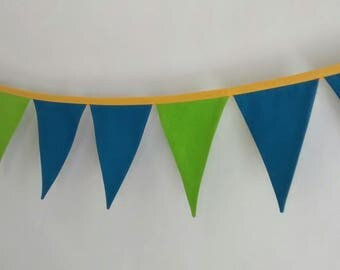 SALE - Fabric Pennant Banner Bunting