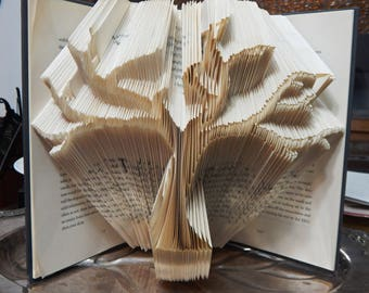 Tree Of Life - Family Tree- Folded Book Art