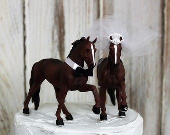 horse wedding cake topper wedding cake topper western cake topper country western 15327