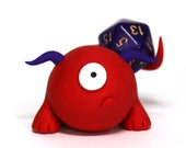 Beta the Timid Monster - D20 One of a Kind