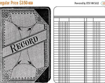 NOW ON SALE Jenni Bowlin Studio Clear Stamps Ledger