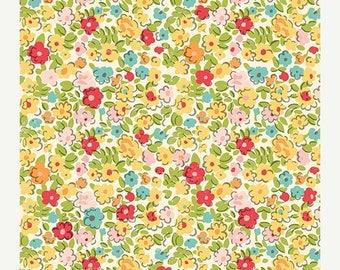 NOW ON SALE October Afternoon Summertime Flower Garden Scrapbook Paper, 2 pcs.