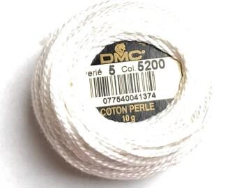 DMC 5200 Pearl Cotton Balls |Size 5 |