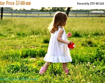 SALE Pillowcase Top/Dress Sewing Pattern/Tutorial Whimsy Couture nb-12 girls PDF Instant