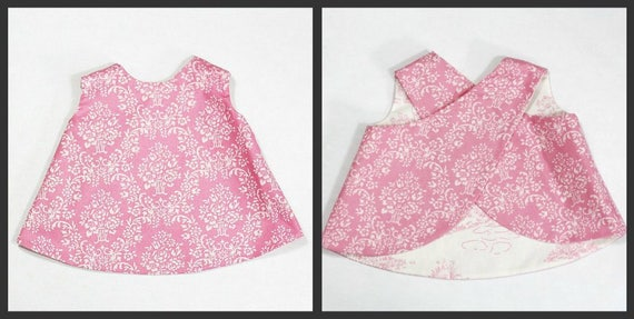 Criss cross tunic pattern ebook reversible pdf 3m 12 girls this is a digital file fandeluxe PDF