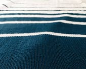 Fibonacci blanket - Stripe Blanket - Full Blanket - PDF knitting pattern