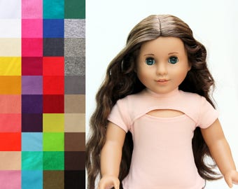 Fits like American Girl Doll Clothes - The Tatiana Top, You Choose Color
