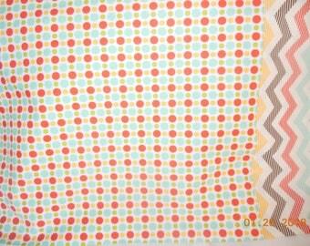 Polka Dot and Chevron  Pillowcase