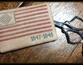 1847-1848 Flag Scissor Keep