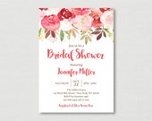 Fall Floral Bridal Shower...